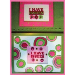 I HAVE ISSUES PATTERN AND EMBELLISHMENT Amy Bruecken Designs