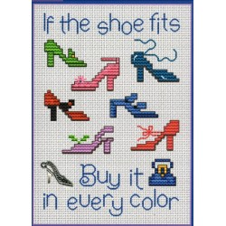 If the Shoe Fits PS102 Sue Hillis Designs
