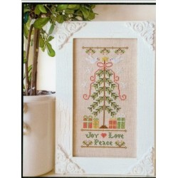 JOY LOVE PEACE Country Cottage Needleworks