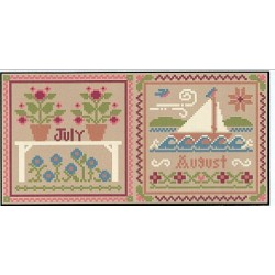 JULY AND AUGUST Little House Needleworks