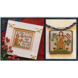 LIBERTY AND JUSTICE Little House Needleworks