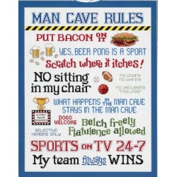 Man Cave Rules Sue Hillis Designs