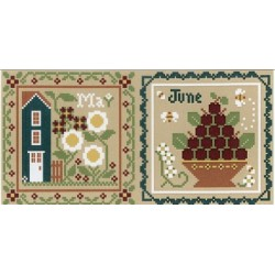 MAY AND JUNE Little House Needleworks