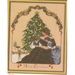 MERRY LITTLE CHRISTMAS Passione Ricamo 12345