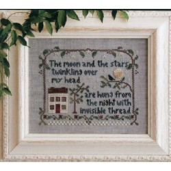 MOON AND STARS Little House Needleworks 12345
