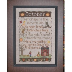 OCTOBER SAMPLER Waxing Moon Designs