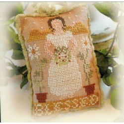 ORNAMENT OF THE MONTH 2012 1 BLESSED Little House Needleworks