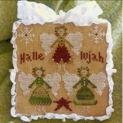 ORNAMENT OF THE MONTH 37 HALLELUJAH Little House Needleworks