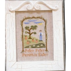 PETER PETER PUMPKIN EATER Country Cottage Needleworks