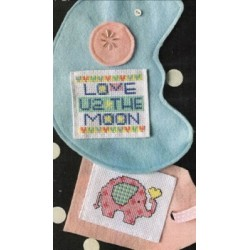 POCKET CARD MOON BABY Amy Bruecken Designs