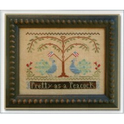 PRETTY AS A PEACOCK Little House Needleworks