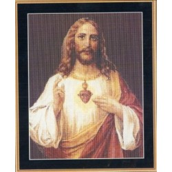 SACRED HEART OF JESUS Mystic Stitch