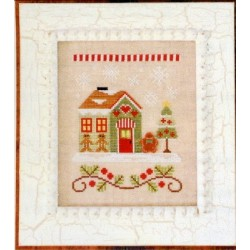 SANTAS VILLAGE GINGERBREAD EMPORIUM Country Cottage Needleworks