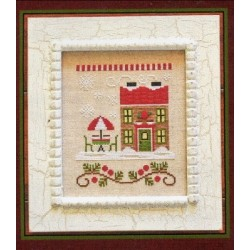 SANTAS VILLAGE HOT COCOA CAFE Country Cottage Needleworks