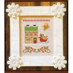 SANTAS VILLAGE SANTAS SLEIGHWORKS Country Cottage Needleworks