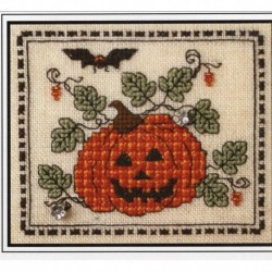 TINY PLAID PUMPKIN WITH EMB The Sweetheart Tree
