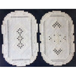 Tray Liners Satin Stitches