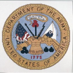 United States Army Seal Just Cross Stitch