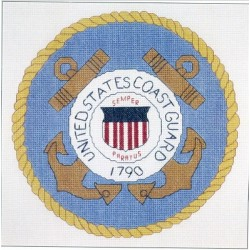 United States Coast Guard Seal Just Cross Stitch