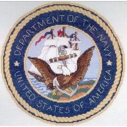 United States Navy Seal Just Cross Stitch