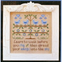 WALK BEFORE YOU FLY Country Cottage Needleworks