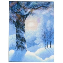 Warm Winter Sun Shinysuns Cross Stitching