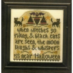 WITCHES GO RIDING Erica Michaels Needleart