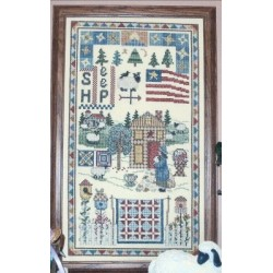 Woolgatherers Cottage Farm AM02 Designs by Linda Myers