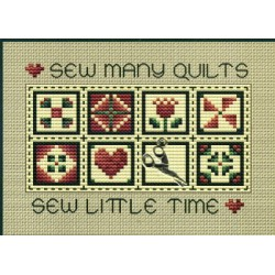Sew Many Quilts SHDPS122 Sue Hillis Designs
