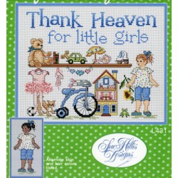 Thank Heaven for little girls Sue Hillis Designs