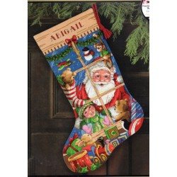 Santas Toys Stocking Dimensions