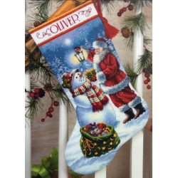Holiday Glow Stocking Dimensions