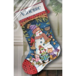 Cute Carolers Stocking Dimensions