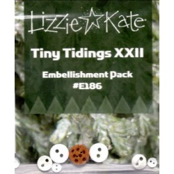 Tiny Tidings XXII Embellishment Pack LKE186 Lizzie Kate