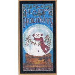 Snow Globe Holiday Mystic Stitch