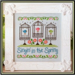 SINGIN IN THE SPRING COUNTRY COTTAGE NEEDLEWORKS