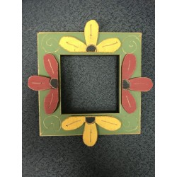 Flower 4in by 4in Mount Forest Frame
