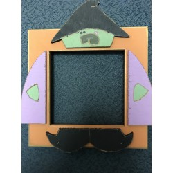 Witch 5 x 5 Mount Forest Frame
