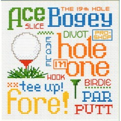Play Golf PS184 Sue Hillis Designs