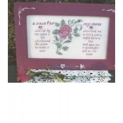 A Rose for Mom Poppy Kreations Frame