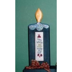 Candle Stay Warm Poppy Kreations Frame