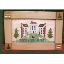 Prize Your Liberty Poppy Kreations Frame