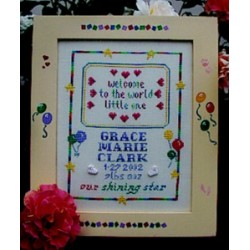 Little One Poppy Kreations Frame