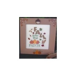 Fall Into the Pumpkin Patch Poppy Kreations Frame
