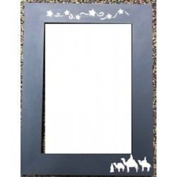Little Town of Bethlehem Poppy Kreations Frame