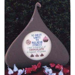 Chocolate Kisses Poppy Kreations Frame