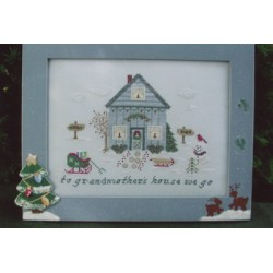 Grandmother's House Poppy Kreations Frame