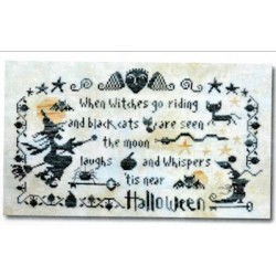 HALLOWEEN THE MOON LAUGHS Barbara Ana Designs