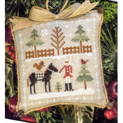 FARMHOUSE CHRISTMAS HORSIN AROUND PART TWO Little House Needleworks
