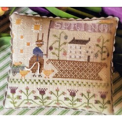 BASKETFUL OF SPRING TIME With Thy Needle and Thread